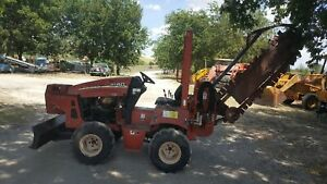 Ditch Witch Rt 40 Ride on Trencher Vermeer Backhoe Mini Ex Electrical Digger