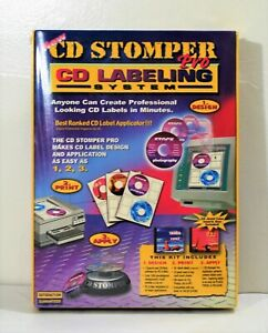 Cd Stomper Pro Labeling System Brand New Nsip