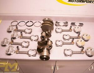 383 Small Block Chevy Stroker Crate Engine Rotating Kit Dss Pistons 10 5 1