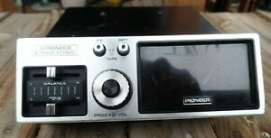 Vintage Working Pioneer 8 Track Car Stereo Player Tp 828
