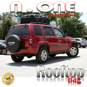 Fit Jeep Grand Rooftop Luggage Storage Expandable Bag Water Resistant