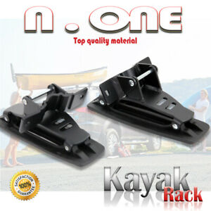 Saddle Kayak Rack Canoe Boat Carrier Roof Mount Cross Bar Fit Acura