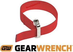Gearwrench 3529d Heavy Duty Oil Filter Strap Wrench Tool 3 8 Or 1 2 Drive New