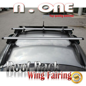 Cross Bars Roof Top Rack Cargo Carrier wind Fairing For Acura Audi Bmw Buick Ca