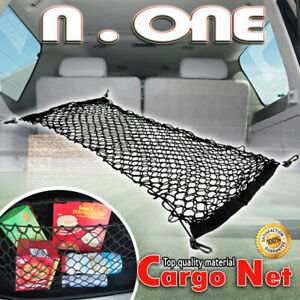 Fit 93 12 Subaru Trunk Car Rear Cargo Net Double Layers Storage Envelope Holder