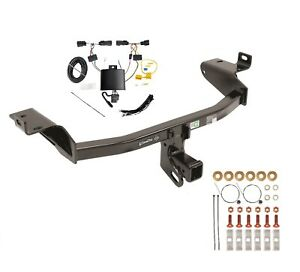 Fits 2019 Jeep Cherokee Class 3 Trailer Hitch Tow Wiring Kit 75998