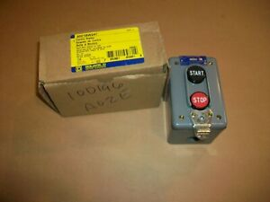 Square D Start stop Control Station 9001bw241 600v Ac dc New In Box