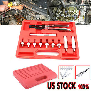 Valve Stem Seal Removal Installer Kit Tool Remover Pliers Seal Adapters Usa