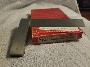 Starrett No 55 6 Machinist Precision Square W Beveled Edges Edp50283 55 6