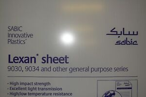 Lexan Polycarbonate Sheet Clear 1 4 X 60 X 14