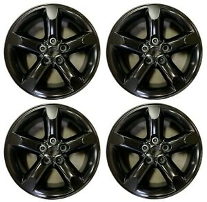 20 Dodge Ram 1500 2006 2007 2008 Factory Oem Rim Wheel 2267 Satin Black Set