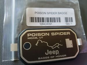 Jeep Official Badge Of Honor Poison Spider Moab Ut
