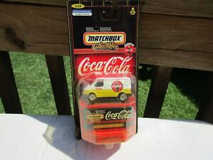 Matchbox Coca Cola ERROR! 1955 Ford Transit Van  Enduring Characters Toy car Lot