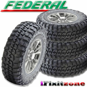 4 Federal Couragia M t 30x9 50r15 104q 6ply Off Road Mt All Season Mud Tires