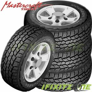 4 Mastercraft Courser Axt 265 70r17 Owl All Terrain Performance Tires