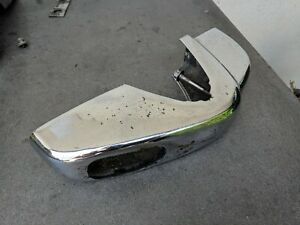 Porsche 356 Bumper Guard Exhaust Bumperettes Rear B C Sc