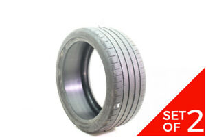 Set Of 2 Used 245 35zr18 Michelin Pilot Super Sport 92y 7 5 32