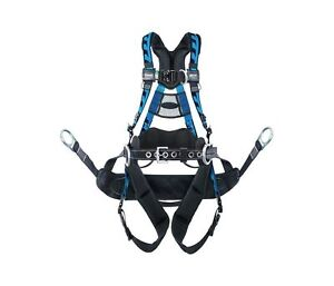 Miller Aat qcbc23xb Harness Aircore Tower Climbing Full Body Size Xxl