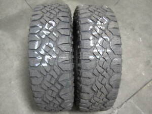 Local Pick Up Only 2 Goodyear Wrangler Duratrac Lt265 70 17 Tires 4596