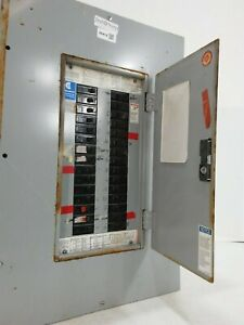 Challenger 100 Amp Panel With Breakers 208y 120 Volt 3 Phase 4 Wire