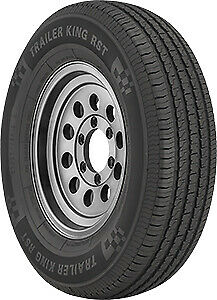 2 New Trailer King Rst St205 75r14 205 75 14 2057514 Trailer Tire C 6