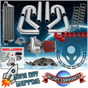 Turbo Kit With Manifold Diy For 1995 2002 Chevy S10 Sunfire 2 2l