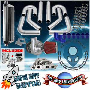 Turbo Kit With Manifold Diy For 91 94 Toyota Mr2 Mr 2 3sgte Sw20