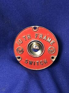 Vintage Amf 10th Frame Bowling Hot Rat Rod Gasser Scta Dash Ignition Switch