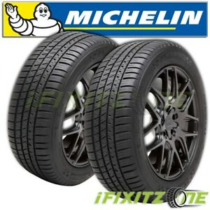 2 Michelin Pilot Sport A s 3 All Season Uhp Performance 255 40zr18 95y Tires