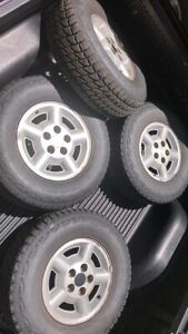 Lion Sport A t P235 75 r15 15 Inch Tires With Rims