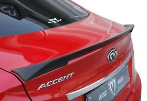 M S Rear Trunk Wing Spoiler Unpainted For 2011 2015 Hyundai Accent Solaris