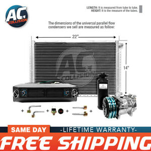 Ac Kit Universal Evaporator Underdash Unit Compressor And Condenser 14 X 22