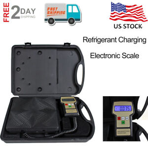 Digital Electronic Refrigerant Scale Charging Weight 100kg Shipping Postal Scale