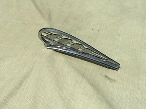 1938 Plymouth Hood Ornament top Section Oem P n 768191