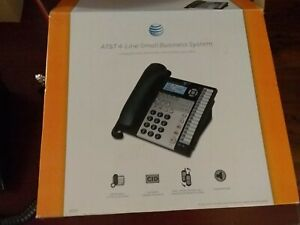 At t 4 Line Small Business System 1070 Open Box Telephone Desktop