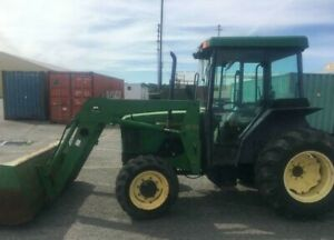 John Deere 5400 Diesel 4x4 Tractor With 540 Loader With Enclosed Cab
