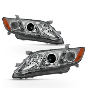 For 07 09 Toyota Camry Projector Headlight Left right Replacement Driving Lamp