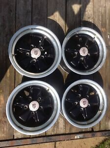 Set Of Porsche Fuchs Rims 15x8 15x7