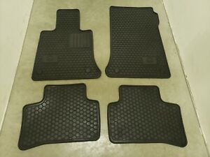 Oem Mercedes benz All season Floor Mats All weather Rubber Carpet Pads Glk X204