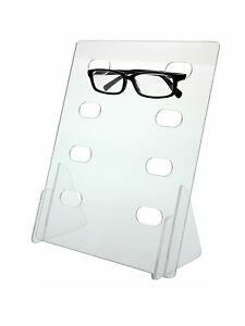 4 Tier Sunglass Eyeglass Display Rack Holder Acrylic Counter Top Qty 6