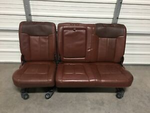 1999 2016 Ford F250 F350 F450 Rear King Ranch Seat 60 40 Nice No Headrest