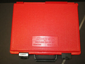 Snap On Tools Cj2001p Bolt Grip Puller Set With Case