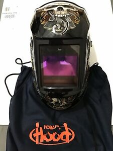 Hobart 32455 Pro Series Auto Darkening Welding Helmet With Grind Mode 770765