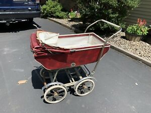 Vintage Baby Carriage Convertable Stroller Wonda Chair 1950 S 1960 S Chicago