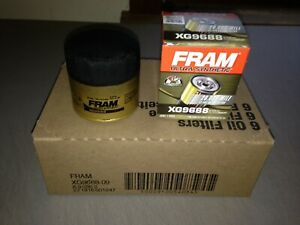 Six 6 Fram Ultra Synthetic Xg9688 Oil Filter Case Fits Mobil 1 M1 104 M1 104a