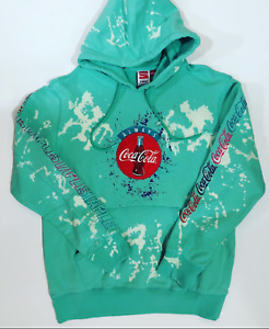 Staple Pigeon x Coca Cola Always Hoodie 1902H5314 Teal Brand New WithTags