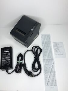 Epson Tm t88iiip Point Of Sale Thermal Printer Model M129c With Power Supply
