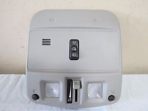 04 09 Cadillac Srx Dome Reading Lamp Light Dimmer Panel Assembly Grey Color Oem