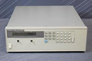 Keysight agilent 6652a Dc Power Supply 20 V 25 A 500 W Programmable
