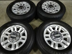 18 Ford F250 Factory Oem Silver Wheels Rims Tires F350 10098